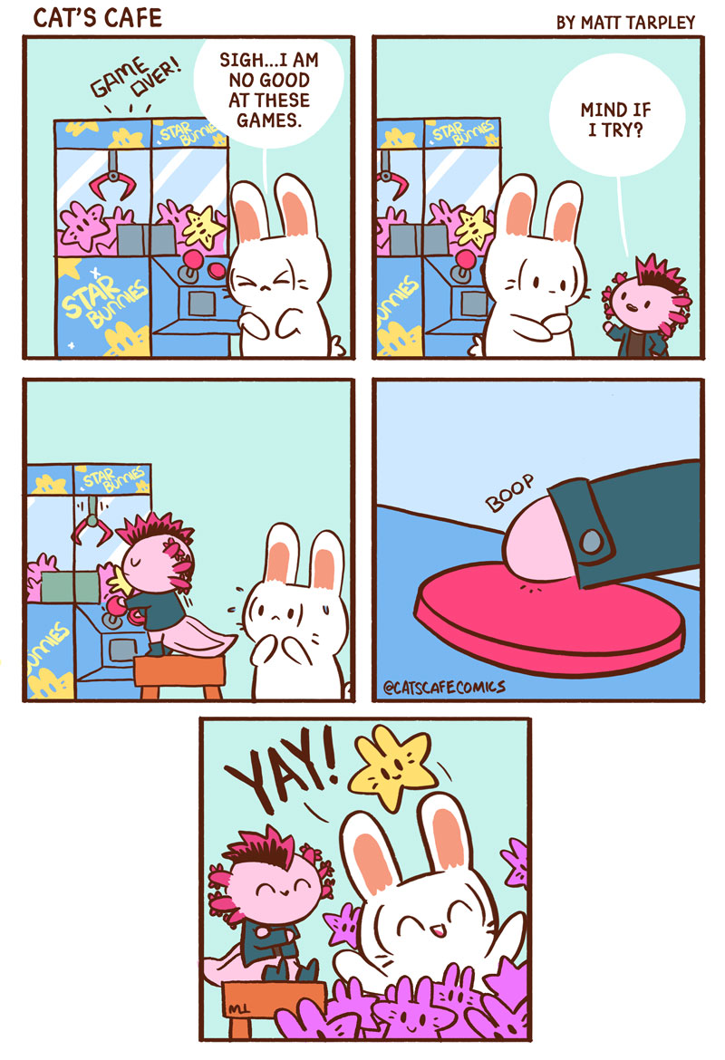 Cat S Cafe Cat S Cafe Is A Wholesome Comic About The Daily Lives Of Cute Animals Join Cat Penguin And Rabbit As They Go About Their Day And Bring A Smile To